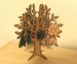 Tree Shaped Jewellery Holder