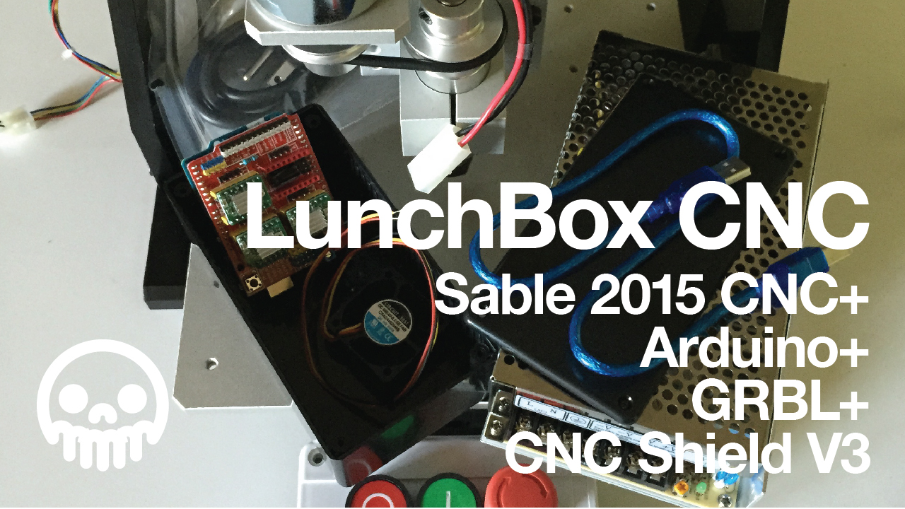 Picture of Sable 2015 CNC + Arduino + GRBL = LunchBox CNC