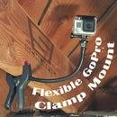 Flexible GoPro Clamp Mount