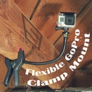 Flexible GoPro Clamp Mount