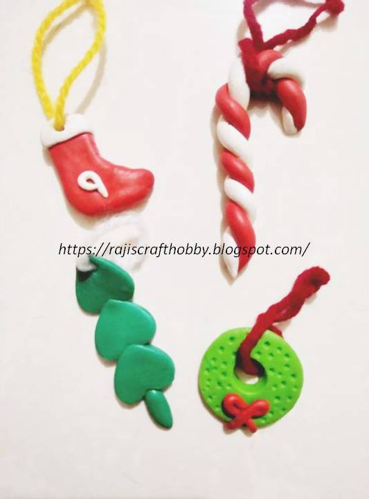 Picture of DIY Clay Christmas Ornaments