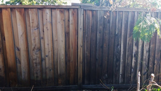 How to Fix AND Enhance a Blown Down Fence