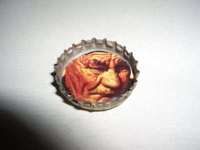 Glue Your Image Into the Bottlecap.