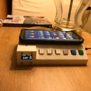 MQTT Bedside Home Control Panel W/ Wireless Charger -alpha