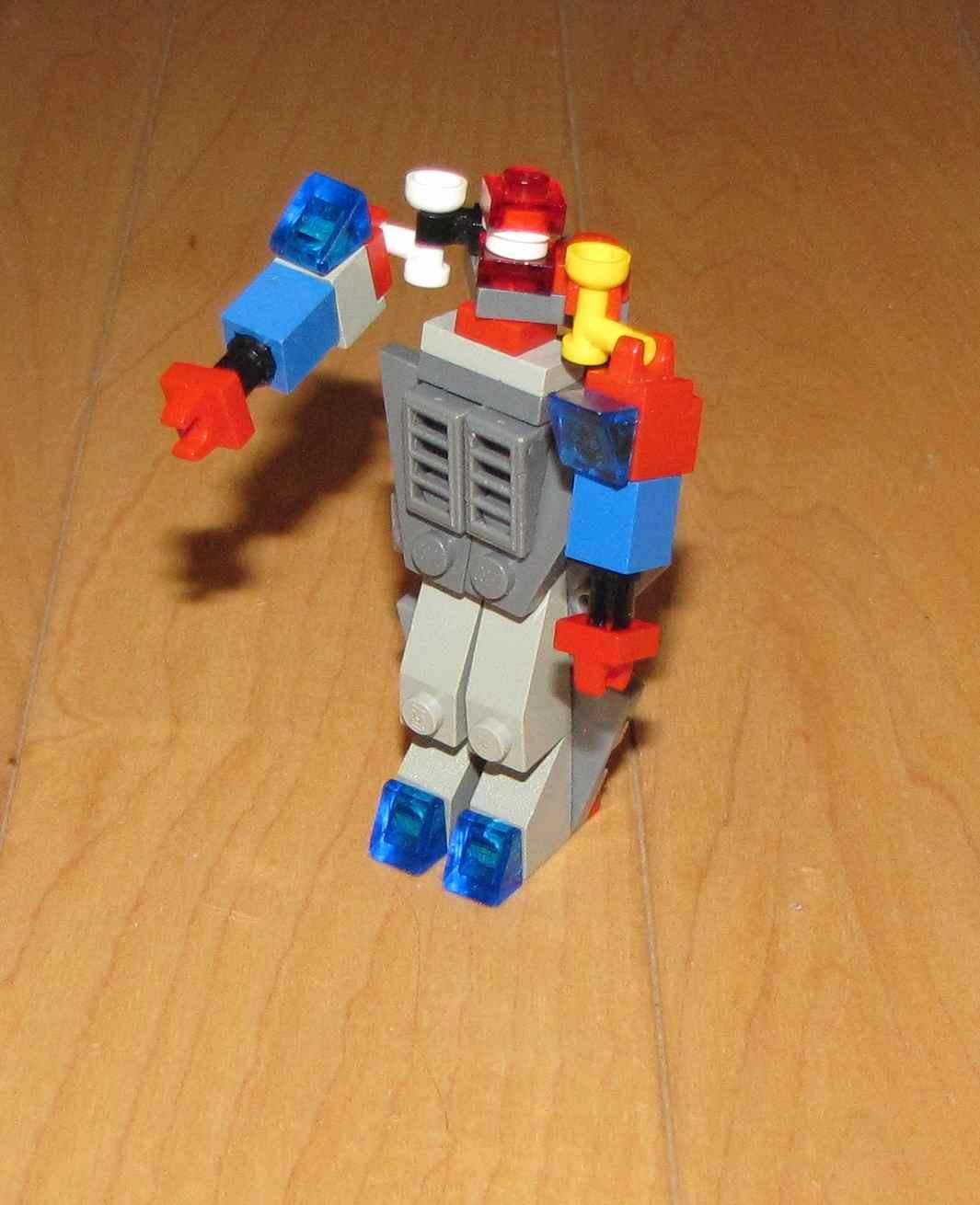 Picture of Optimus Prime Lego Instructions