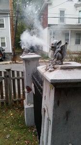 Hooking Up the Smoke Machine