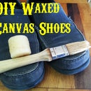 DIY Waxed Canvas Shoes