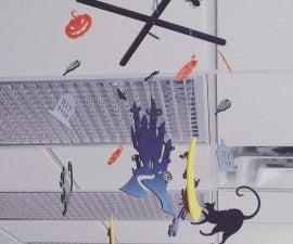 Laser Cut Halloween Mobile