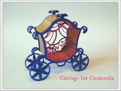 3D Printed the Carriage for Cinderella.