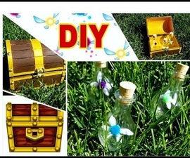 Zelda Chest and Fairy DIY