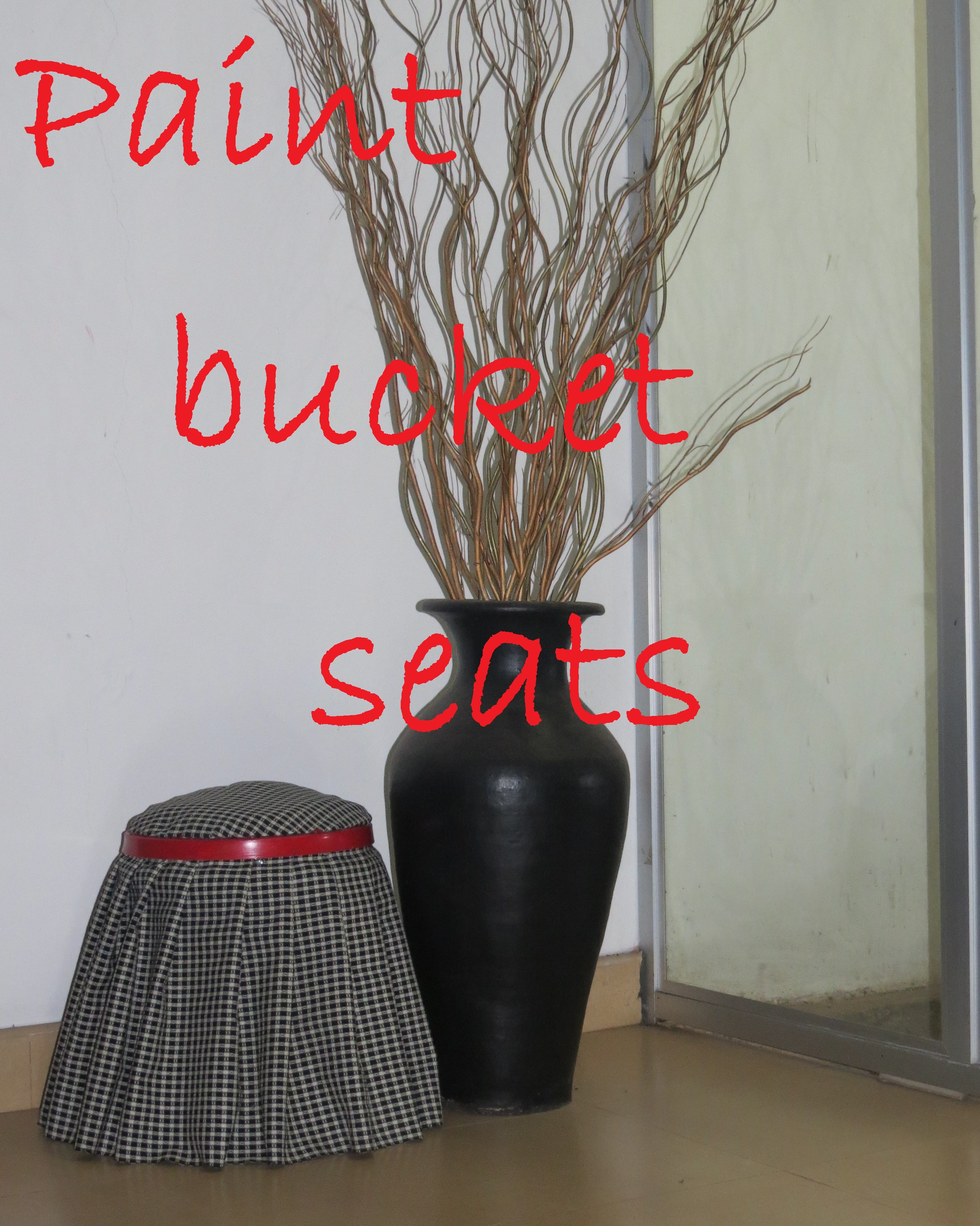 Picture of Paint Bucket Seats
