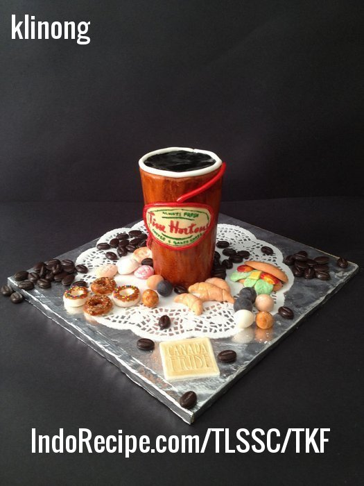 Picture of Edible Tim Hortons Coffee Cup