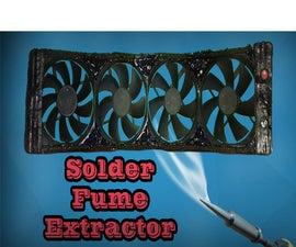 2 $ Solder Fume Extractor