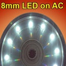 8 mm LED on AC