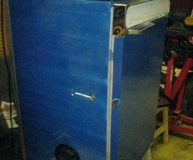 Beef Jerky Maker/Dehydrator from a bar fridge!