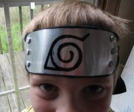 How to Make a Naruto Style Headband