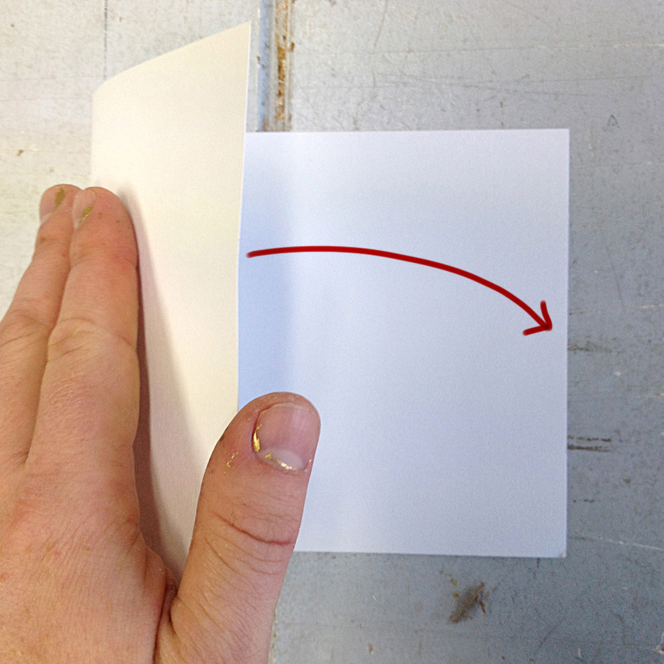 Picture of Making the Cards