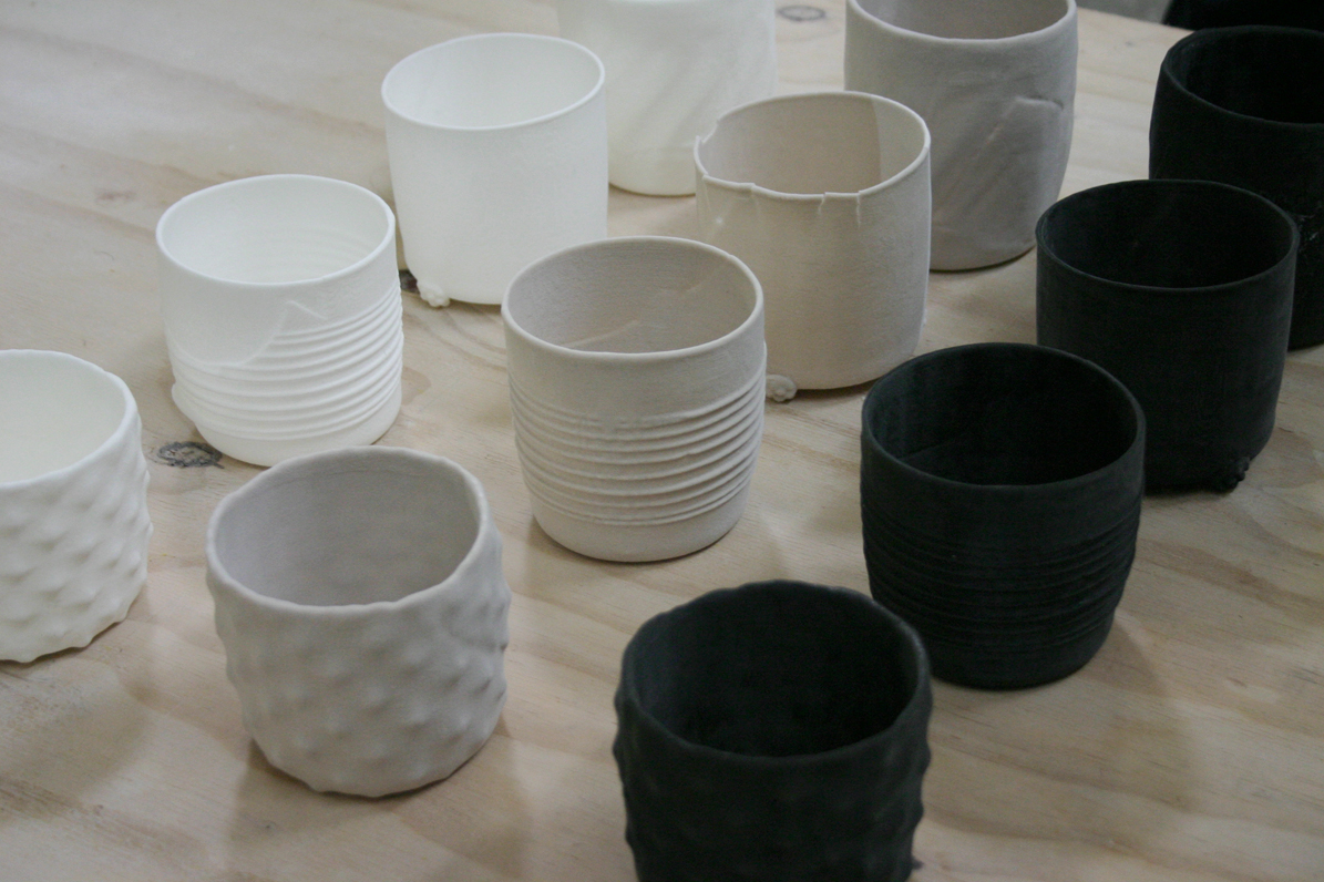 Picture of 3D Printing the Cups