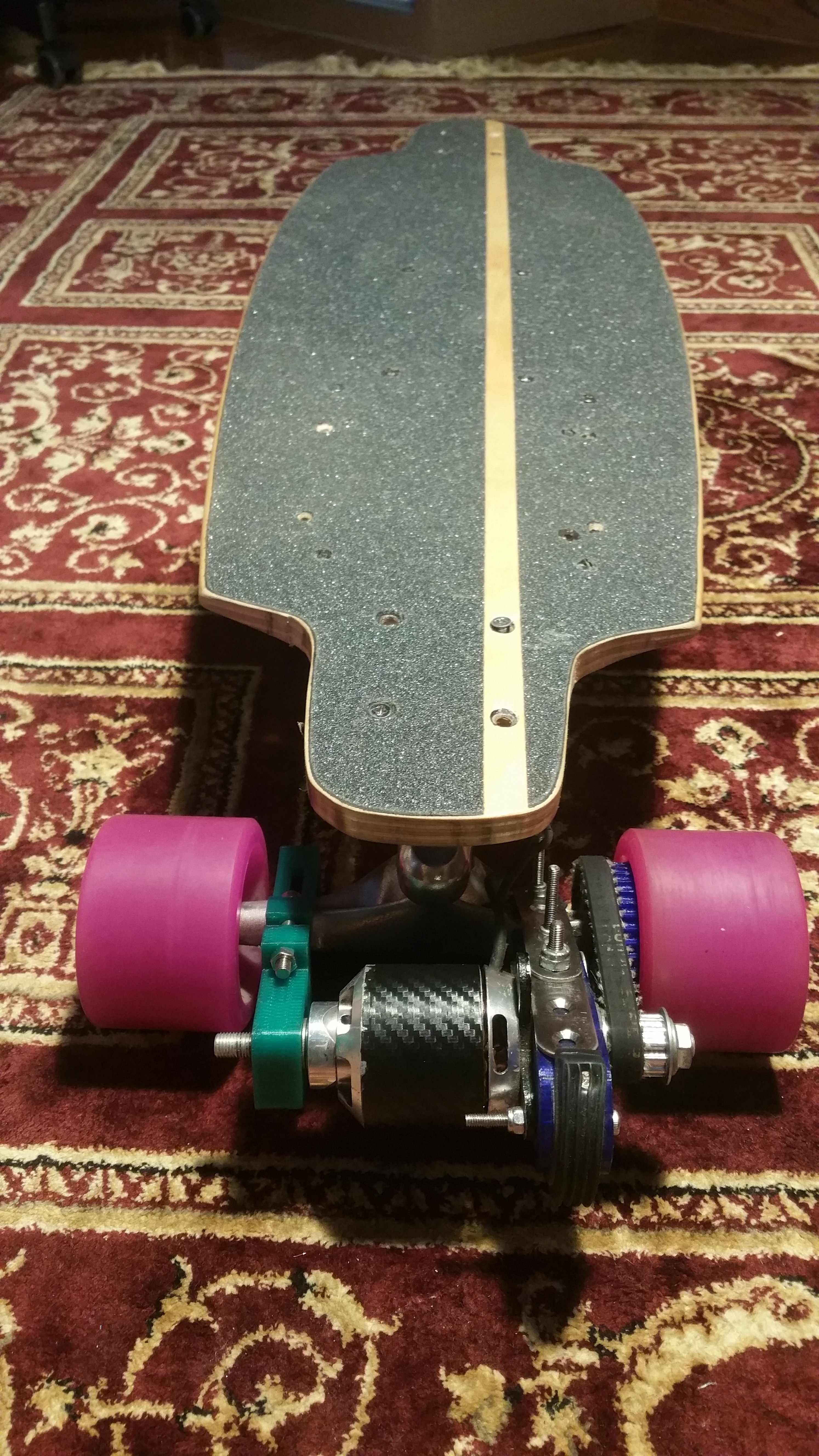 Picture of V3, No Weld, 3D Printed, Electric Longboard