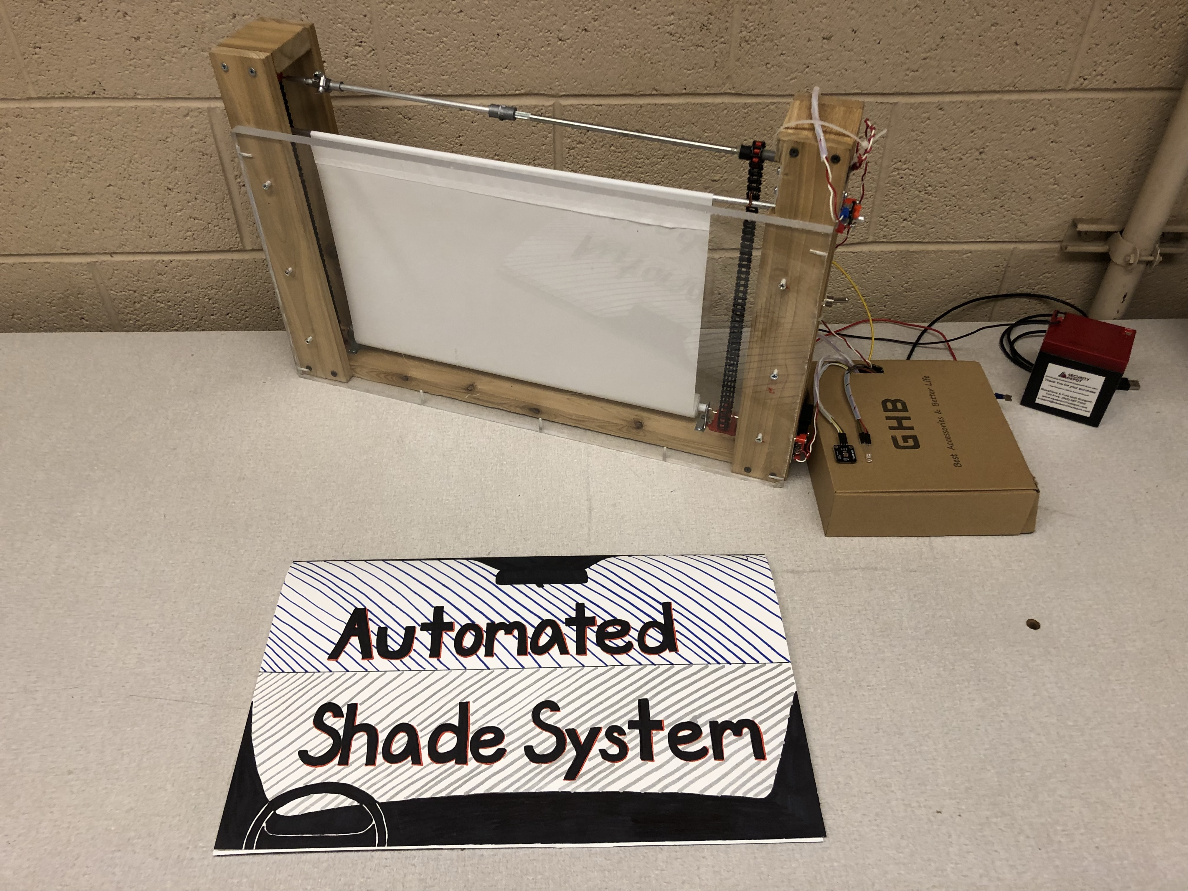 Picture of Automated Sunshade System