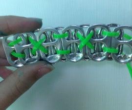 Eco- Friendly DIY Pop Tab Bracelet