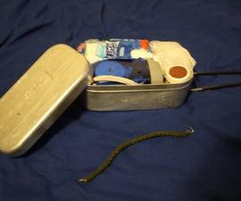 Mini-Mess tin survival tin.