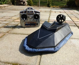 Radio Controlled Hovercraft.