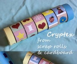 Cryptex From Scrap Cardboard