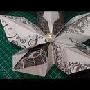 How to make the 5 petal Origami flower