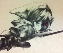Link/ Dark Link Drawing
