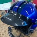 Helicopter/Airplane Helmet MSA Gallet LH250 Baseball Style Sun Visor Mod