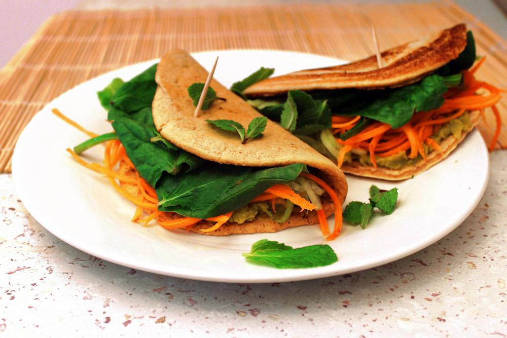 Picture of Veggie Tortilla Wrap