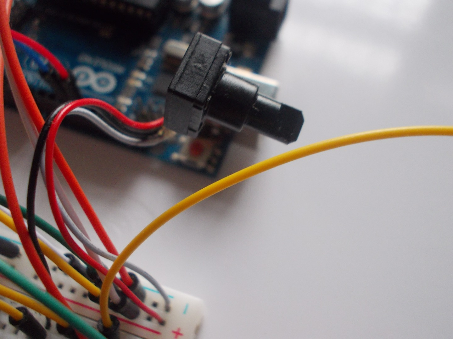 Picture of Connect the LCD to Arduino.