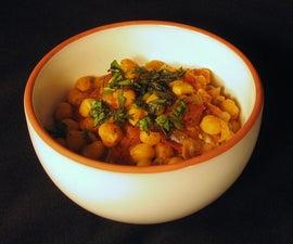 Rosemary Garbanzo Beans