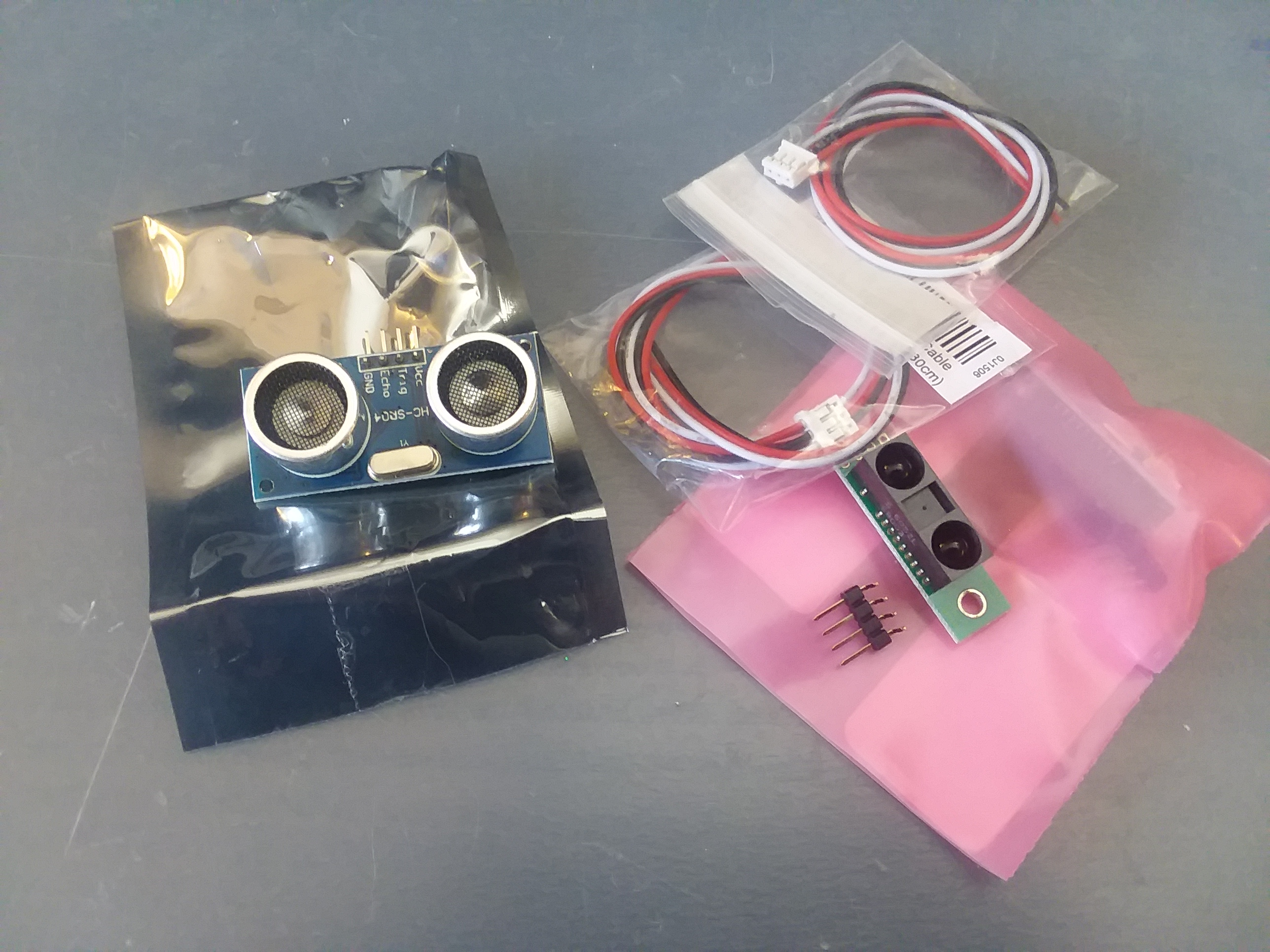 Picture of Wallace the Autonomous Robot Part 2 - Prepare for Sensors