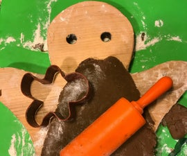 How to Make a Gingerbread Man Cutting Board