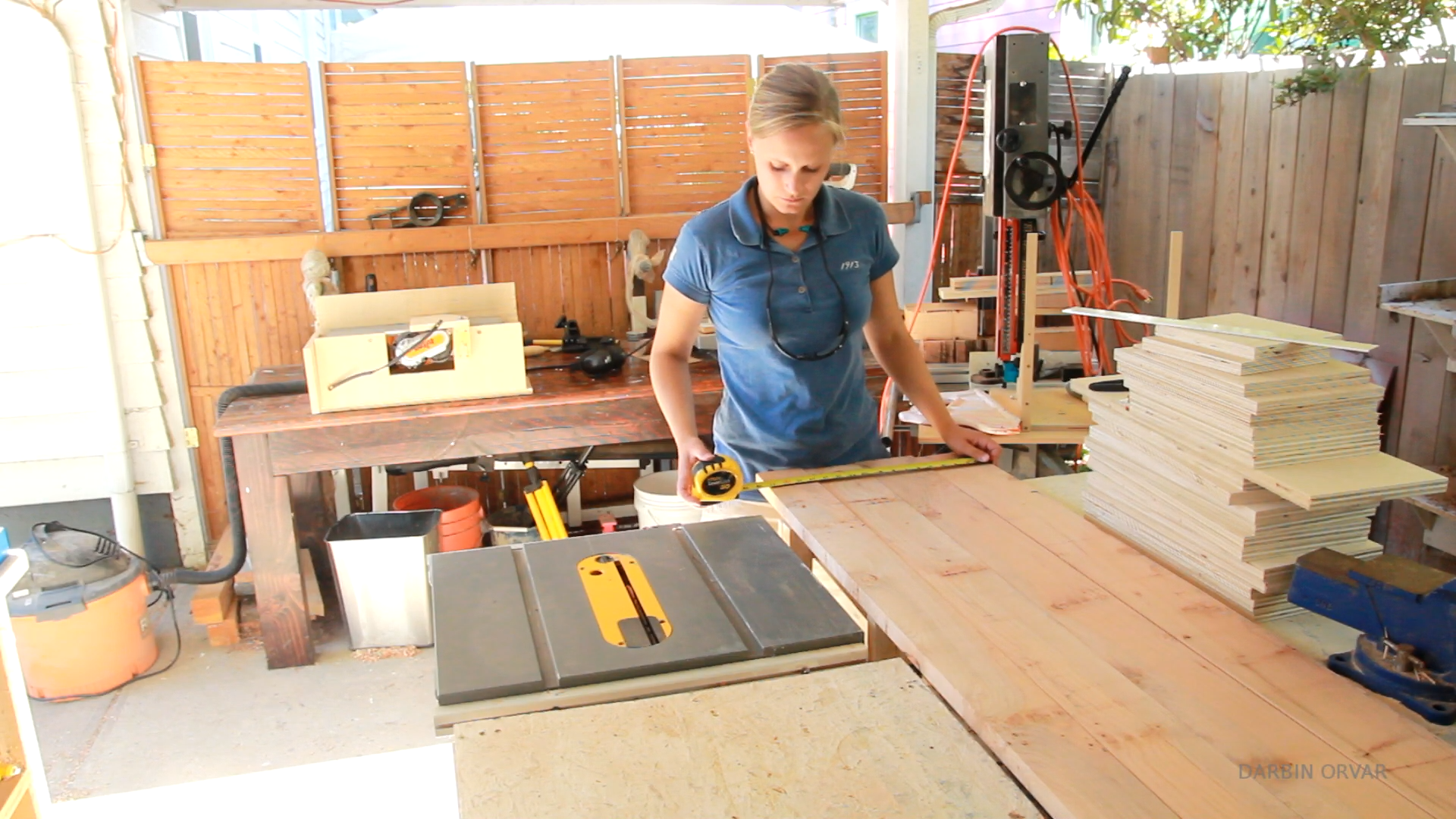 Picture of Jointing the Wood