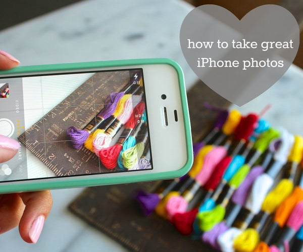 How to Take Great Photos With an IPhone