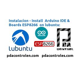 Installation Arduino IDE & Boards ESP8266 in Lubuntu