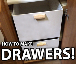 Make Some Drawers for Any Wardrobe!