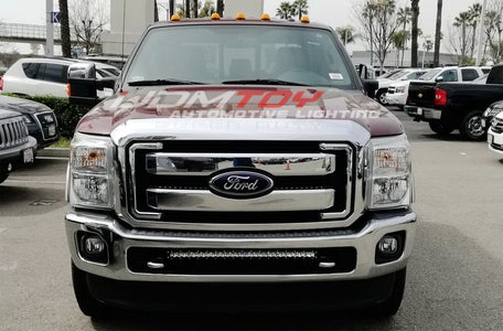 Single Row LED Light Bar for 2011-16 Ford F250 Install Guide