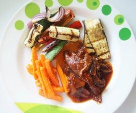 Kitchen Grill Dinner – Paleo and Vegetarian