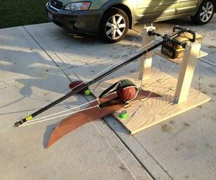 Portable pumpkin catapult