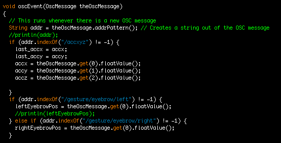 Picture of Receive OSC Messages in Processing