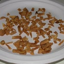 Make your own dried apple bits
