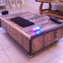 Home Made Mini Coffee Table Using Junk Material