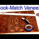 Fun With Wood Veneer! - 4 Way Book Match