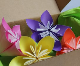 Origami Paper Corsage