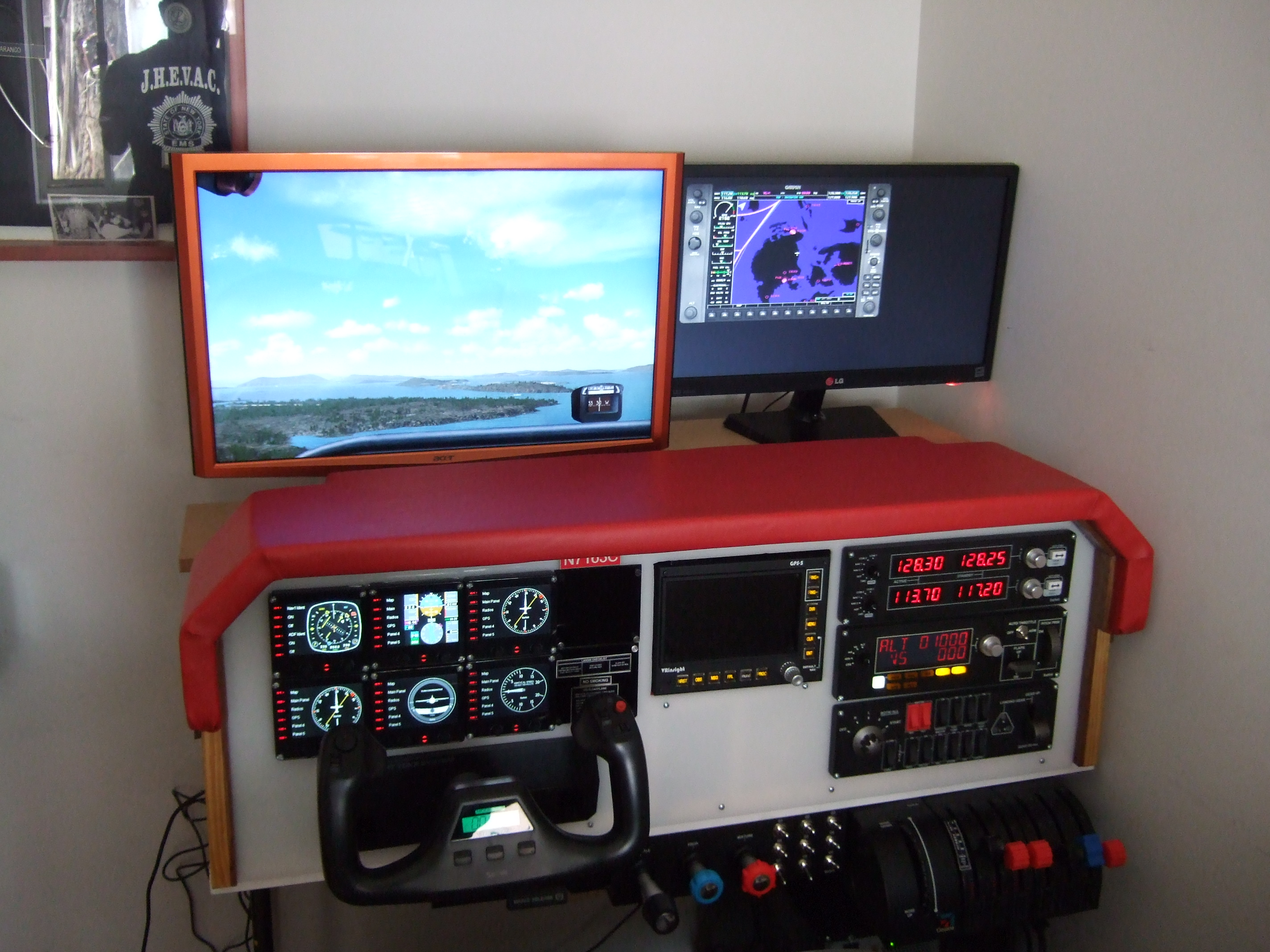 DIY Flight Simulator Cockpit (with Pictures)