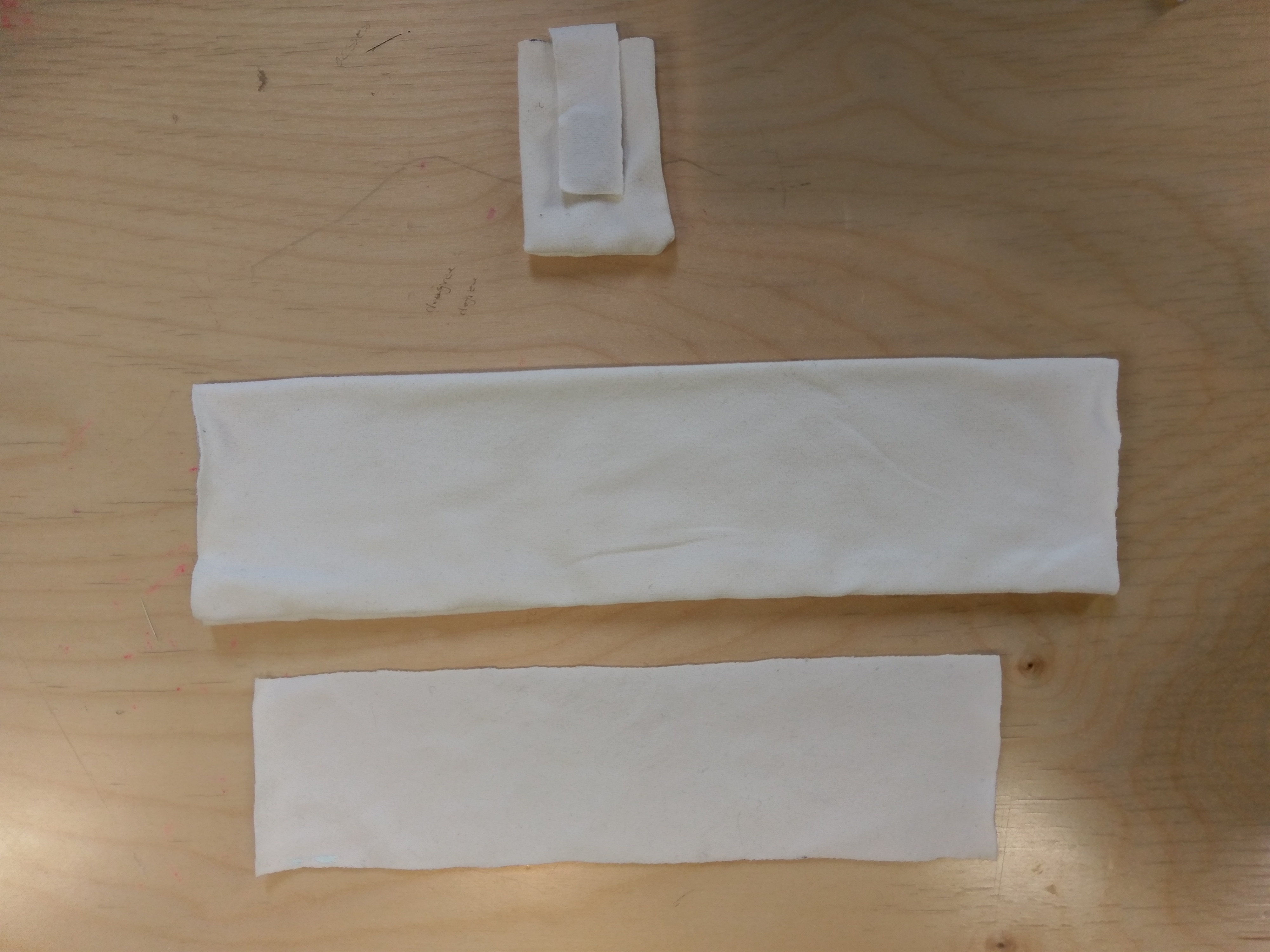 Picture of Making the Fabric Sleeve